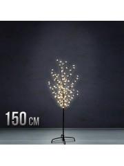 Karácsonyi hangulatú ledes álló fa dísz 150 cm