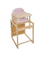 Jago24 2in1 etetőszék és asztal pink 00003