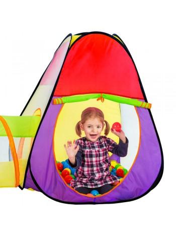 Jago24 Abigail gyermek játszósátor és alagút 200db labdával