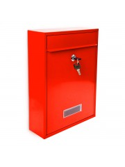 Jago24 Adelina nemesacél postaláda piros