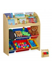 Point4u Aladin Gyerek Polc Játék tároló szekrény 10030553