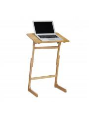 Állítható bambusz laptop asztal, állvány