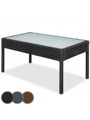 Jago24 Altos polyrattan kerti asztal 00078
