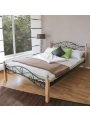 Angela 140x200 cm fém ágykeret ágyráccsal
