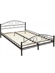 Audrey 140x200 cm fém ágykeret ágyráccsal fekete