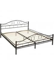 Audrey 180x200cm fém ágykeret ágyráccsal fekete