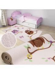 Baglyos 200x290cm gyerekszobai szőnyeg