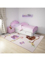 Baglyos 160x230cm gyerekszobai szőnyeg