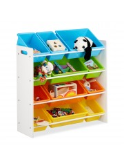 jago24 BALU gyerek polc játék tároló szekrény XL 00130