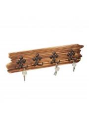 Bamb rusztikus kulcsakasztó