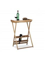 Bambusz bortartó asztal