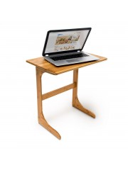 Bambusz laptop asztal, állvány