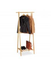 Jago24 Bambusz ruhaállvány polccal 00153