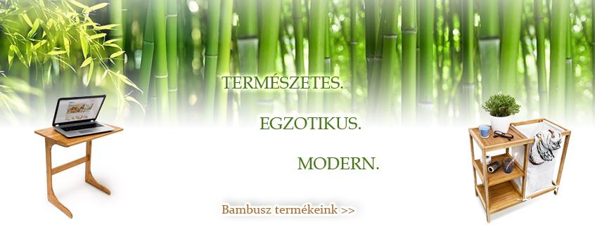 Bambusz termékek