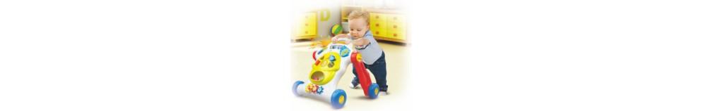 Járássegítő, fejlesztő babáknak