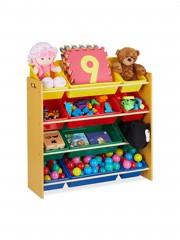 Point4u Benett Gyerek Polc Játék tároló szekrény B 10030542