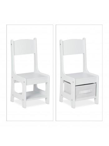 Jago24 Billy gyerekasztal és szék szett tároló dobozokkal 00227