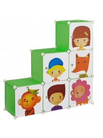 Jago24 Boby gyerek mobil gardrób szekrény 00232