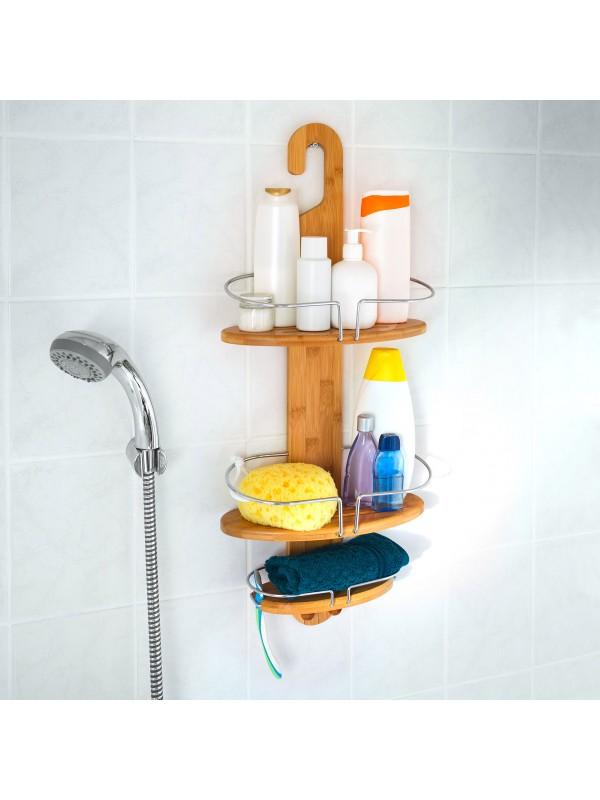 Brno fürdőszobai zuhany polc 3 szintes - Fürdőszoba bútor  TipTopOtthon webáruház
