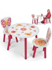 Butterfly 3 részes gyerek asztal és szék szett