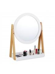 Carme bambusz fürdőszoba tükör polccal