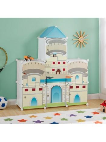 Castle gyermek mobil gardrób szekrény