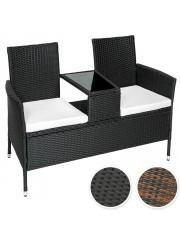 Celin polyrattan kertipad, fotel