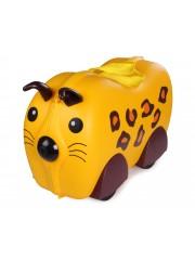 Cili gurulós gyerek bőrönd leopárd