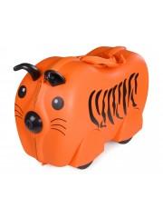 Cili gurulós gyerek bőrönd tigris