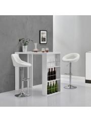Dakota modern bárasztal, bárpult fehér