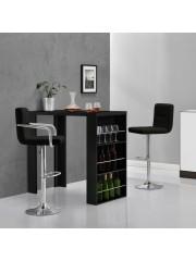 Dakota modern bárasztal, bárpult fekete