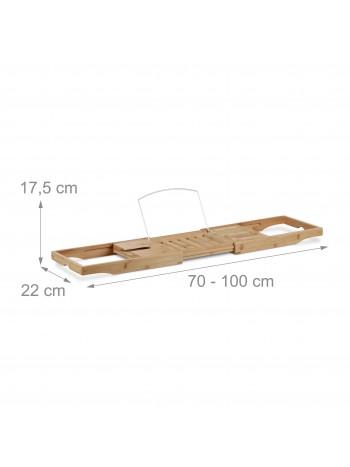 Dalma fürdőkád tálca bambuszból