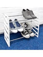 Deni 3 szintes cipőspolc, cipő tartó