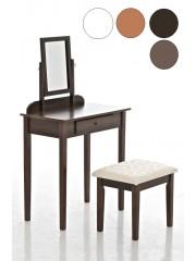 Jago24 Diana sminkasztal fésülködő asztal székkel 00257