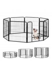 Jago24 Doggy 8 szögletű kutya, macska kisállat kennel L 00284