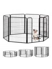 Jago24 Doggy 8 szögletű kutya, macska kisállat kennel XL 00287