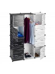 Dorothe fekete fehér szekrény