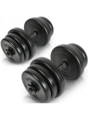 Egykezes súlyzó szett súlyzó készlet 40kg 2x20kg II