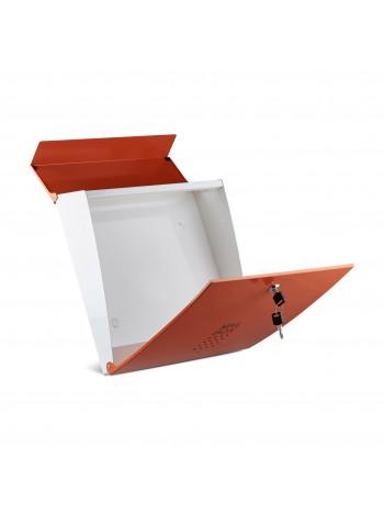 Point4u Evian fém kerti postaláda narancssárga 100100387