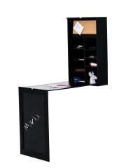 Fali összecsukható asztal, Marla íróasztal fekete