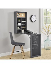 Fali összecsukható asztal, íróasztal szürke