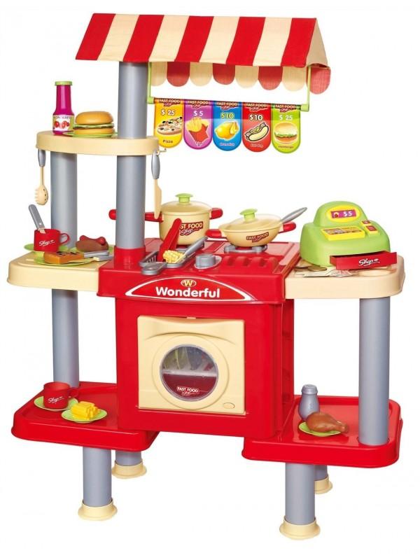 Fify gyorséttermi gyerekkonyha bolti extrákkal - Gyermek konyha ...