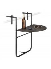 Függő erély, balkon összecsukható rattan asztal