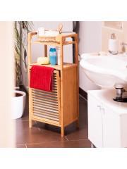 Gammo fürdőszobai polc és szennyestartó
