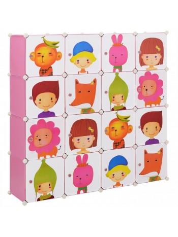 Gretchen gyerek mobil gardrób szekrény
