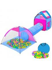 Tsideen Gyermek játék alagút 200 db labdával 10019476