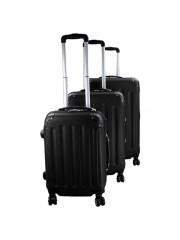 Holiday 3 részes bőrönd fekete