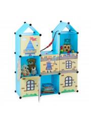 Jago24 Amina mobil gardrób szekrény kék színben 00401
