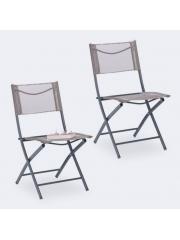 Jago24 Összecsukható kerti szék barna 10035909