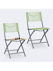 Jago24 Összecsukható kerti szék zöld 10035908